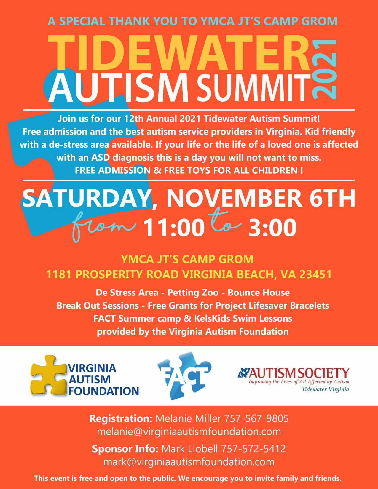 Tidewater Autism Summit