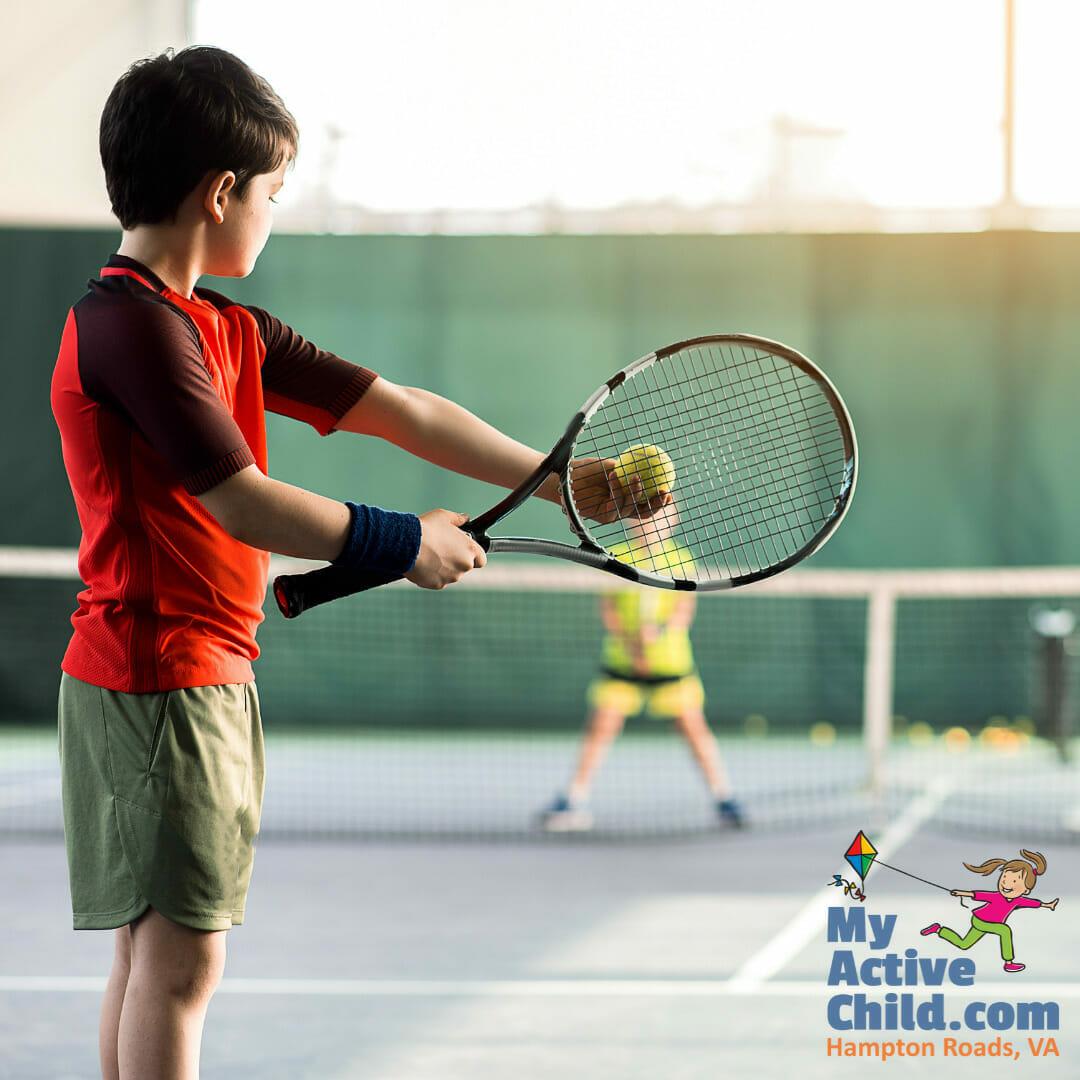 Tennis Lessons for Kids in Hampton Roads VA