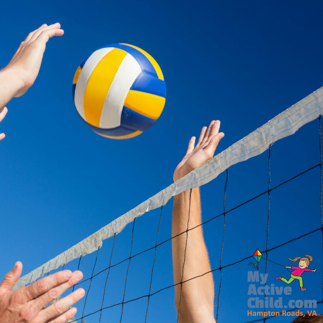 Volleyball Programs for Kids in Hampton Roads, VA