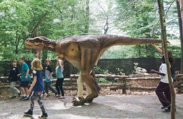 Dino on the Loose! Dinosaur Fun at the Virginia Living Museum