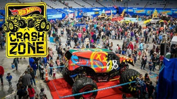 Hot Wheels Monster Trucks Crash Zone Event