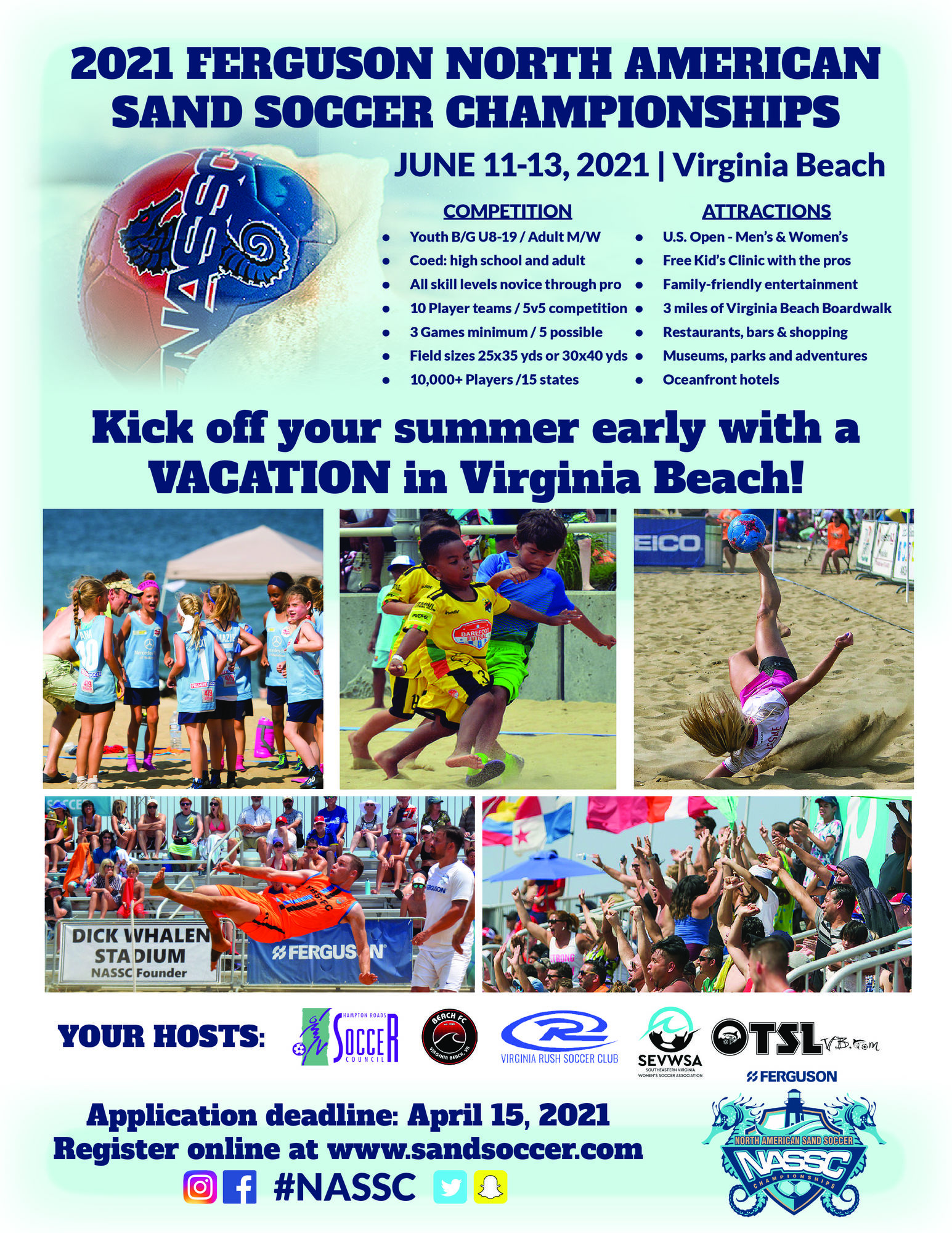 NASSC-North American Sand Soccer Championships Kids Clinic