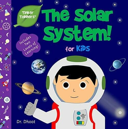 Kids' Kindle Book: Solar System for Kids (Tinker Toddlers)