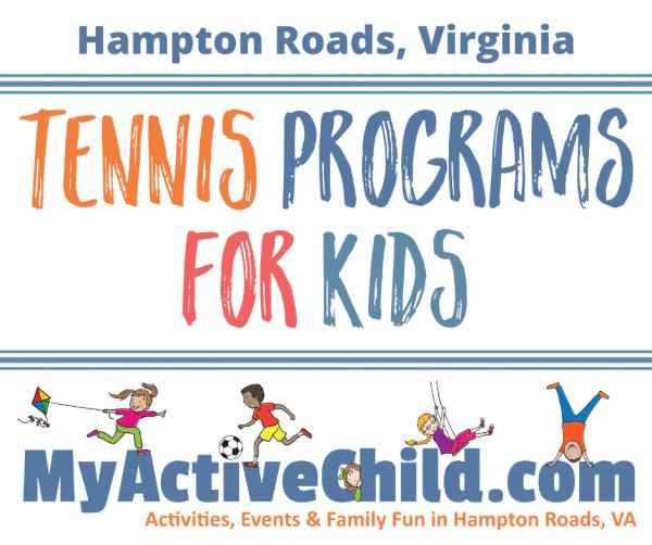 Tennis Programs for Kids in Hampton Roads Virginia